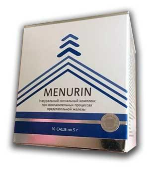«МЕНУРИН» от простатита – инструкция по применению, цена, отзывы, аналоги