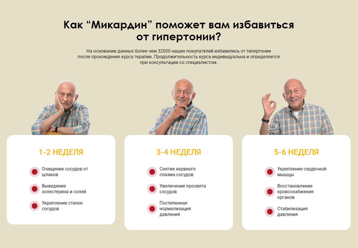 микардин отзывы, инструкция по применению, где купить